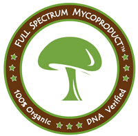 Full Spectrum Mycoproduct - Organic, DNA Verified