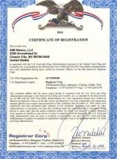 FDA Registered Facility