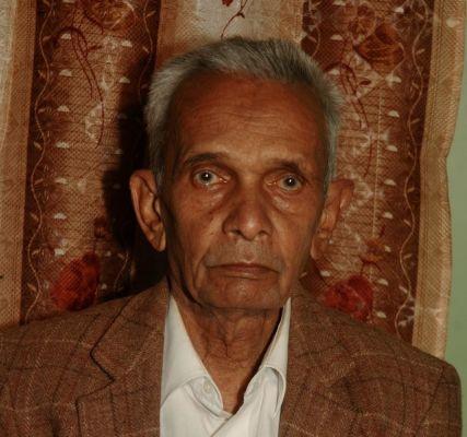 Sad Demise of Shri Hirabhai Ambalalbhai Patel Vishrampura