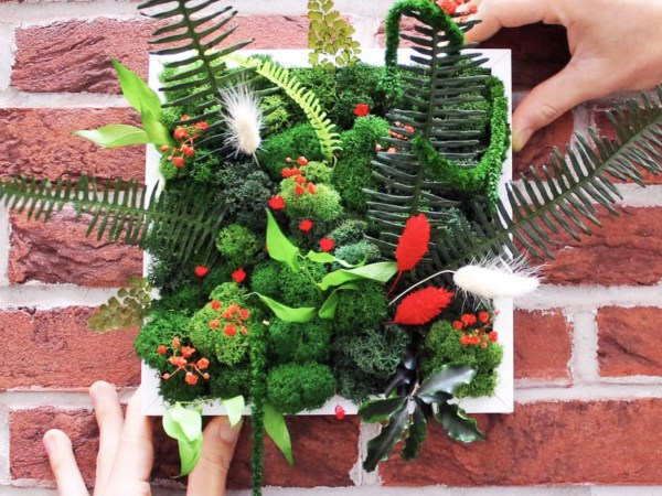 team-building-Team-building-atelier-de-confection-de-cadre-vegetal-a-distance