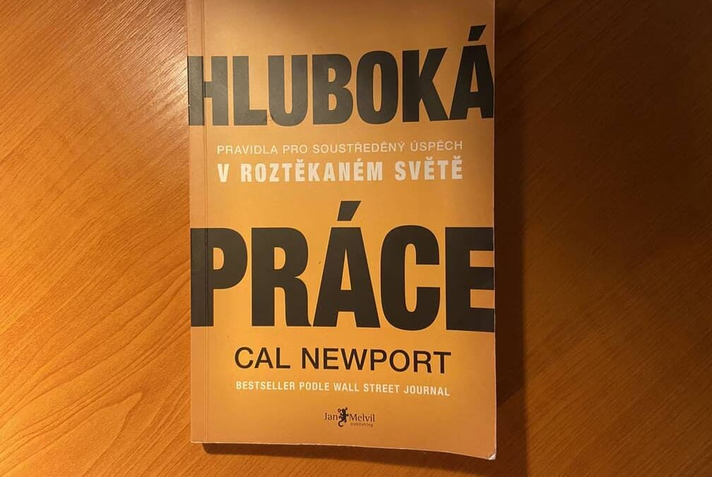 Hluboká práce, Cal Newport: 14 tipů z knihy – reading challenge #Y20B01
