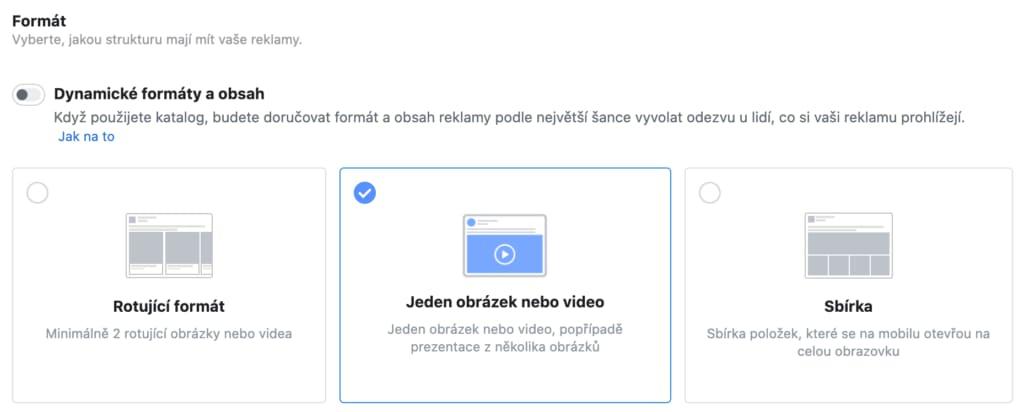 Využívejte více formátů, testujte různé textace, grafiky ,apod. Nikdo není dopředu schopen říct, jaké kreativy budou fungovat skvěle. Facebook reklama potřebuje získávat data a podle toho upravovat svůj algoritmus.