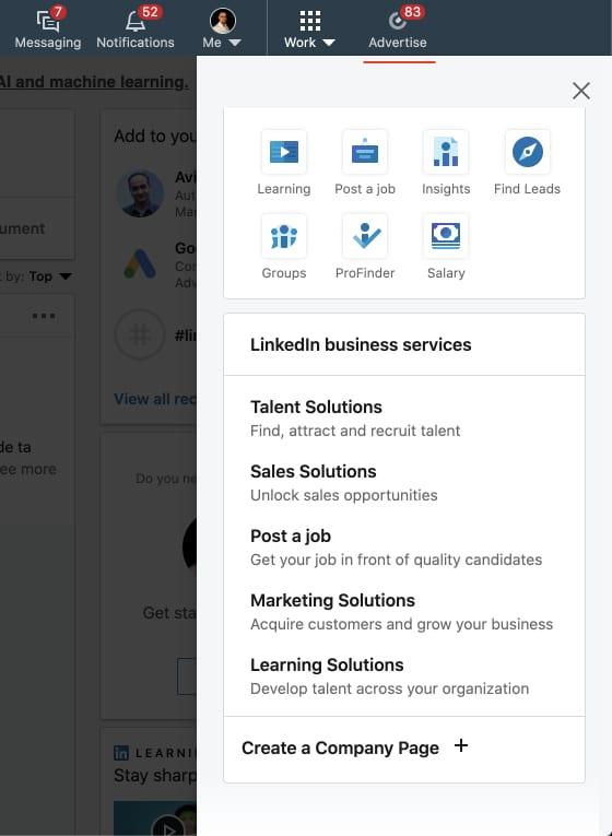 LinkedIn Campaign Manager je nezbytnou součástí celého procesu spuštění LinkedIn reklamy, jelikož v něm se samotné reklam nastavují.