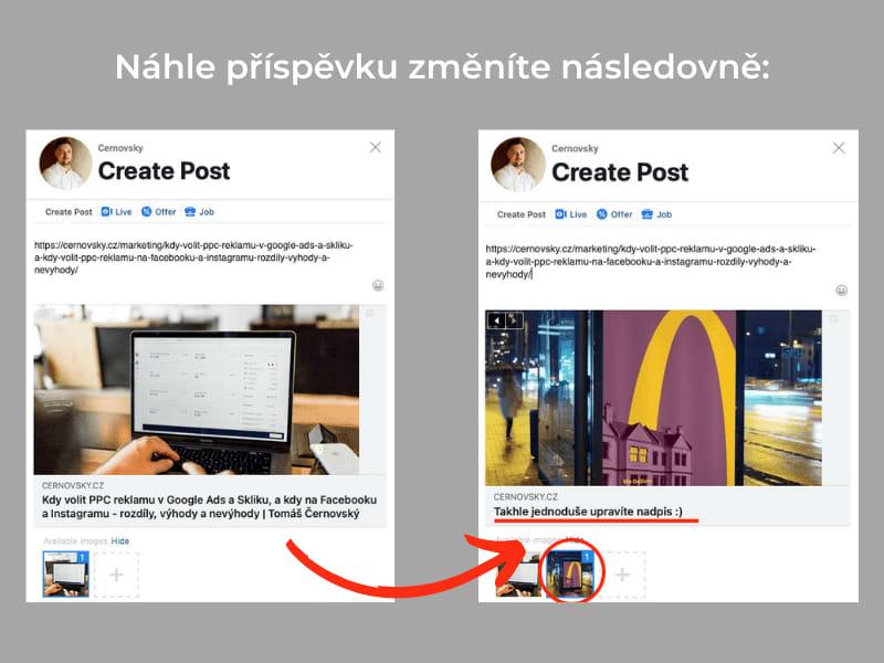 Ověření domény na Facebooku vám umožní měnit náhledy odkazů na vaší Facebook stránce.