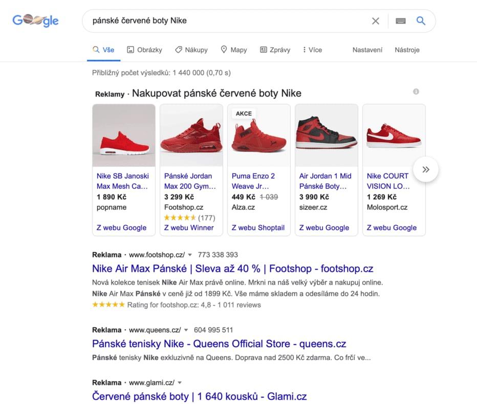 Reklama v Google Ads se řadí mezi nejefektivnější kanály online reklamy. Dost často se ji říká zavírací kanál, který dotahuje konverze. Naopak reklama na Facebooku se často využívá spíše v akvizici a na vrchu nebo uprostřed marketingového trychtýře.