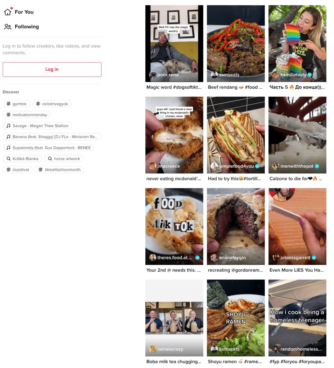 Food videa na TikToku jsou skvělým tahákem, hlavně skvěle fungují netradiční  recepty a nebo fígle a hacky, které vám usnadní přípravu různých pokrmů.