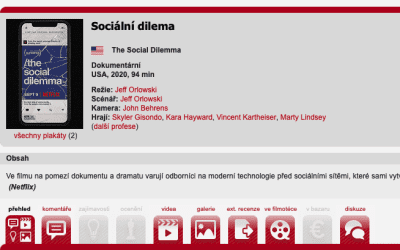 The Social Dilemma / Sociální dilema 2020: je to skutečně tak hrozné?