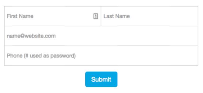 Formulář na landing page není ideální variantou, ale pokud jinak nejde, pak bych doporučoval jít cestou kratšího formuláře.