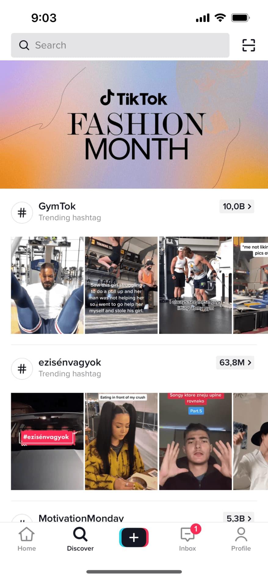 TikTok a jeho vyhledávání je jako většina možností okopírované od Instagramu, takže při používání této aplikace nebudete překvapeni.