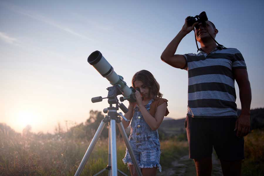 stargazing after-school activity