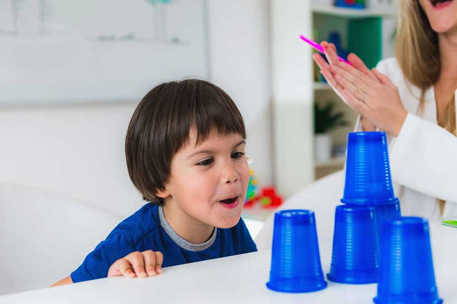 cup stacking after-school and holiday activities
