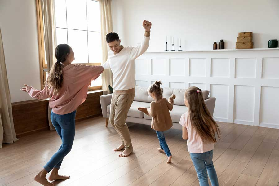 dance party after-school holiday activities