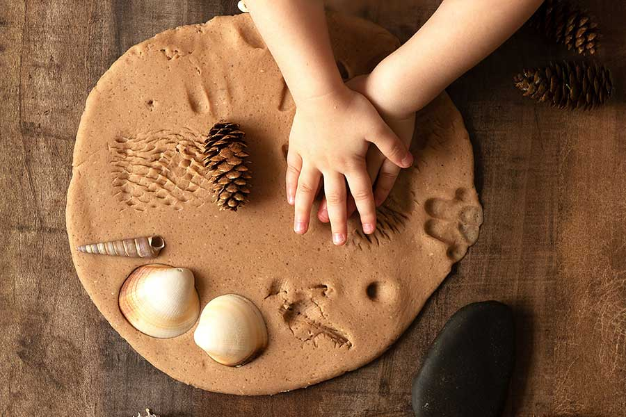 clay craft after-school and holiday activities for kids