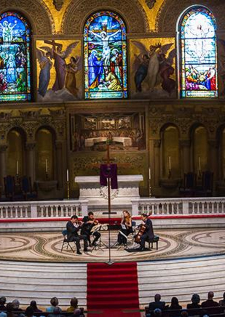 St. Lawrence String Quartet: Good Friday Liturgical Performance (Stanford)