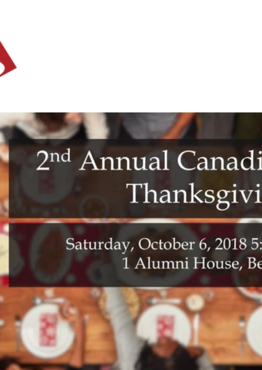 7th Annual Canadian Women's Club Thanksgiving