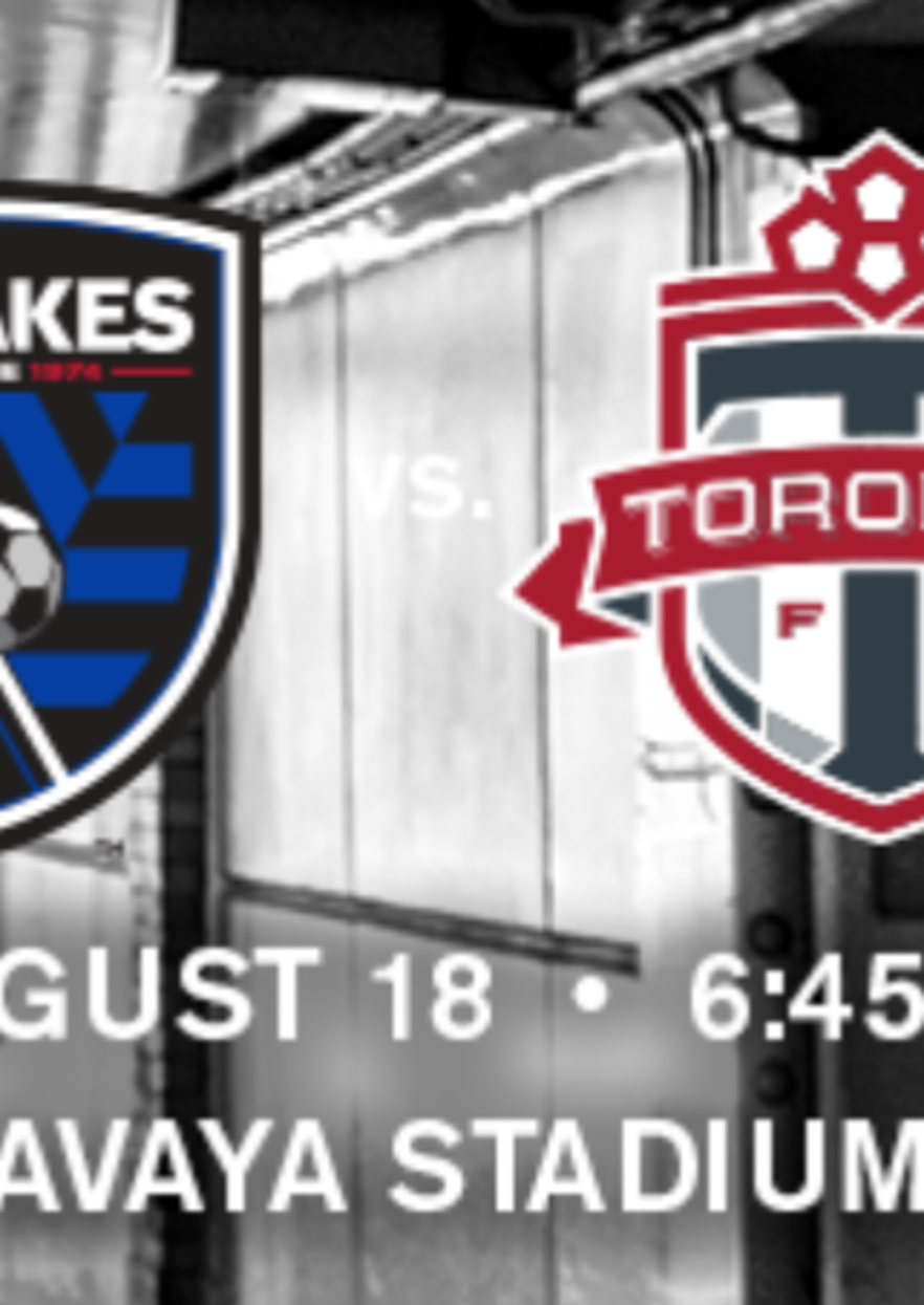 San Jose Earthquakes vs Toronto FC