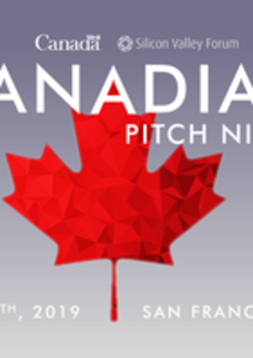 Canadian Pitch Nights - Silicon Valley Forum (San Francisco)
