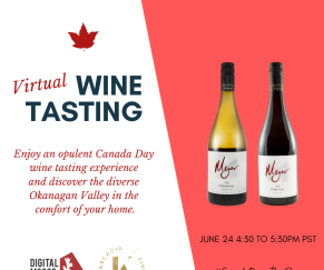 Virtual Wine Tasting to kick-off Canada Week