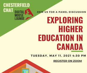 Chesterfield Chat: Exploring Higher Education in Canada (Virtual)