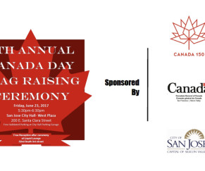 City of San Jose 7th Annual Canada Day Flag Raising
