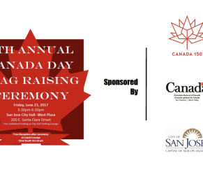 7th Annual Canadian Flag Raising