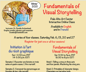 French & English Storytelling Classes
