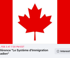 "Conference ""Le Systeme D'Immigration Canadien"