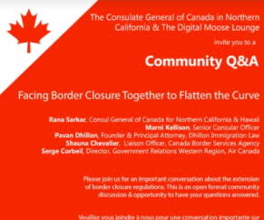 Webinar: Facing Border Closure Together to Flatten the Curve