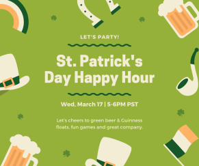 St. Patrick's Happy Hour