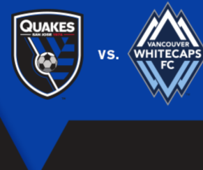 San Jose Earthquakes vs Whitecaps FC