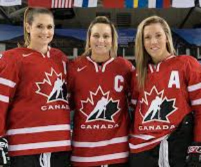 Canadian National Women's Hockey Team vs. USA