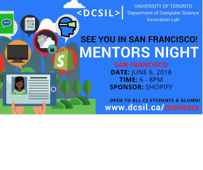 University of Toronto Mentors night (San Francisco)