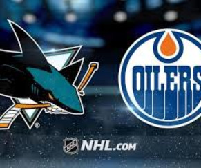 Sharks vs. Oilers