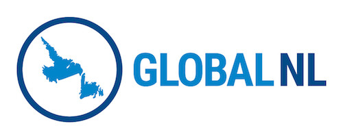 Global N L  Logo  Words  Blue