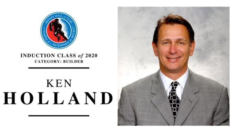 Vernon's Ken Holland inducted into the Hockey Hall of Fame