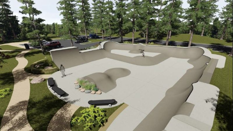 'It's a great day:' government grant approved to fund Gabriola Island skateboard park