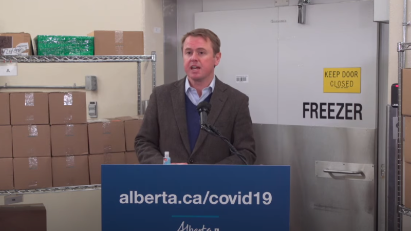 'Feeling overwhelmingly privileged': Alberta's first health-care workers receive COVID-19 vaccine