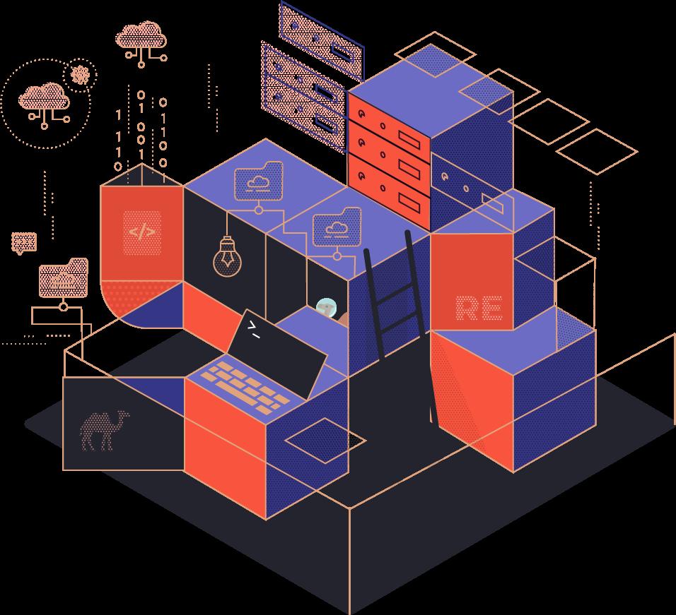 Cube illustration