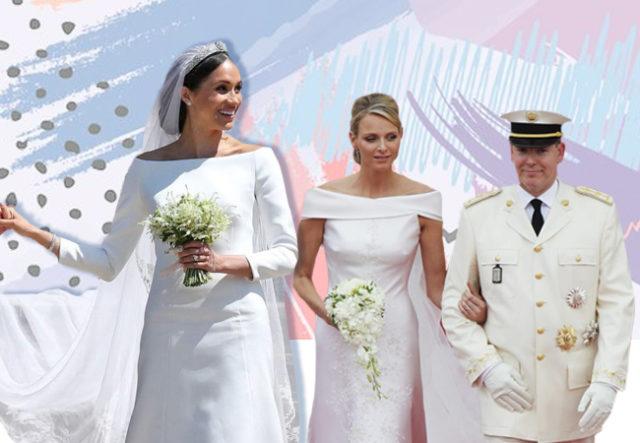 Свадебные платья королевских особ. PEOPLETALK