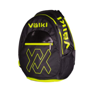 Tour Backpack Black Yellow Square