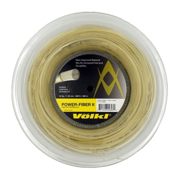 Power Fiber II Reel Natural 16g Old Packaging
