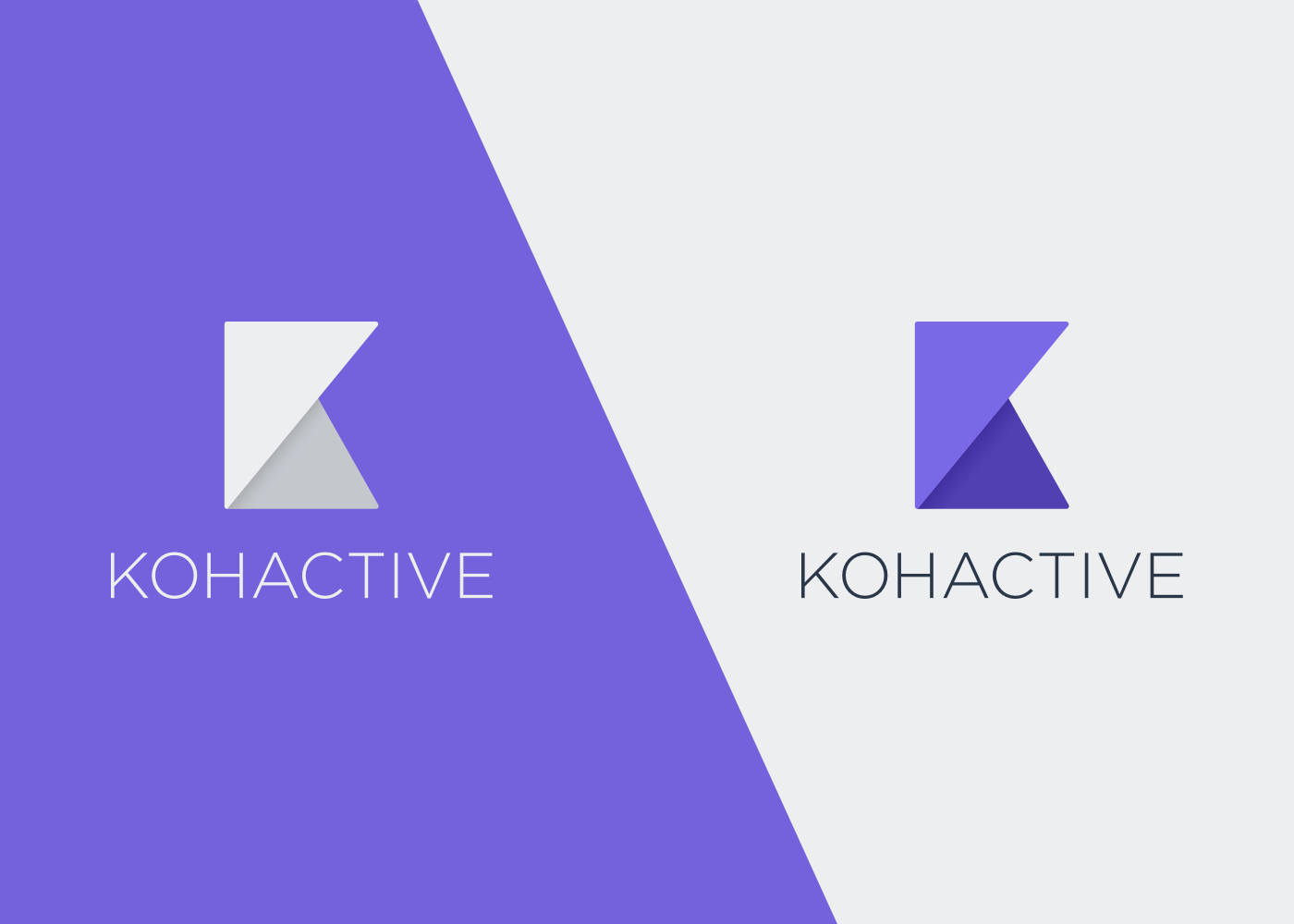 Kohactive Logo Color Variations