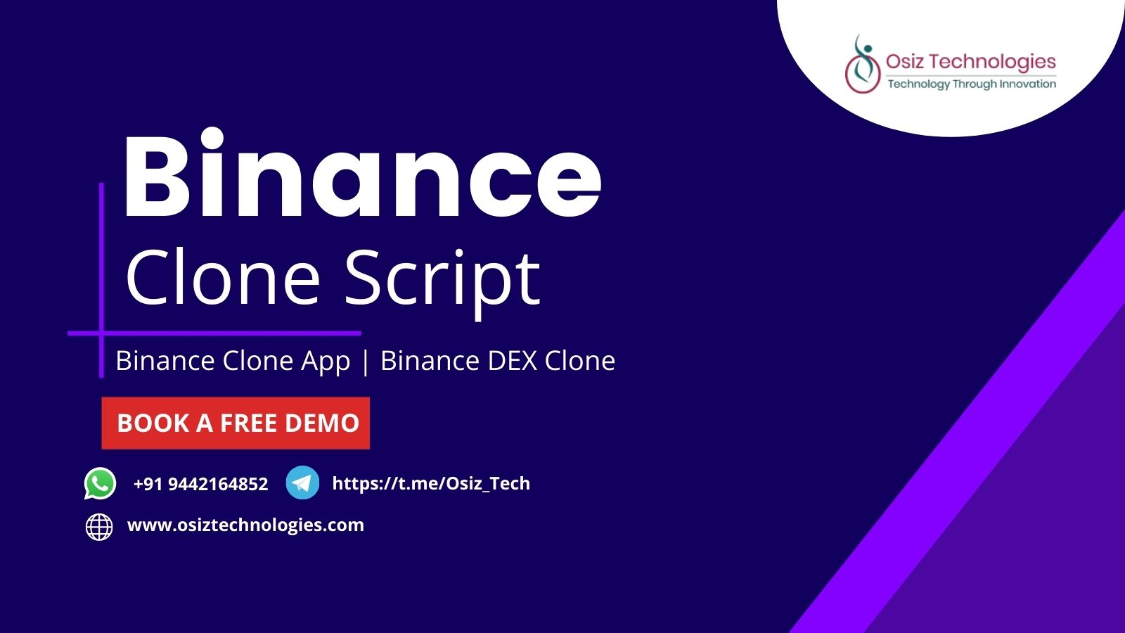Binance Clone Script | Binance DEX Clone Software | Binance Website Clone