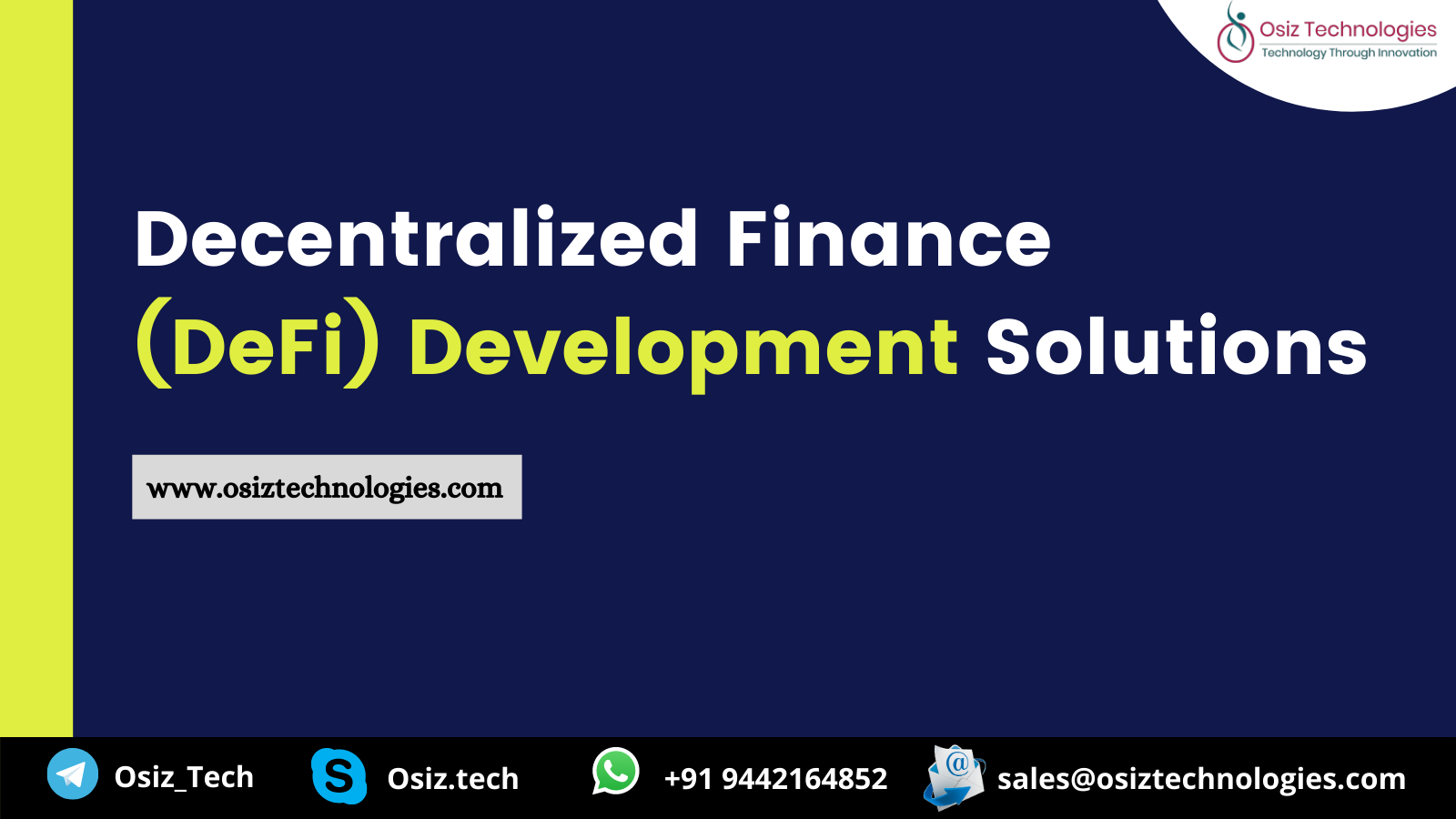 Decentralized Finance (Defi) Development Solutions addressing the challenges faced by various industries like Bank, healthcare, insurance, and education
