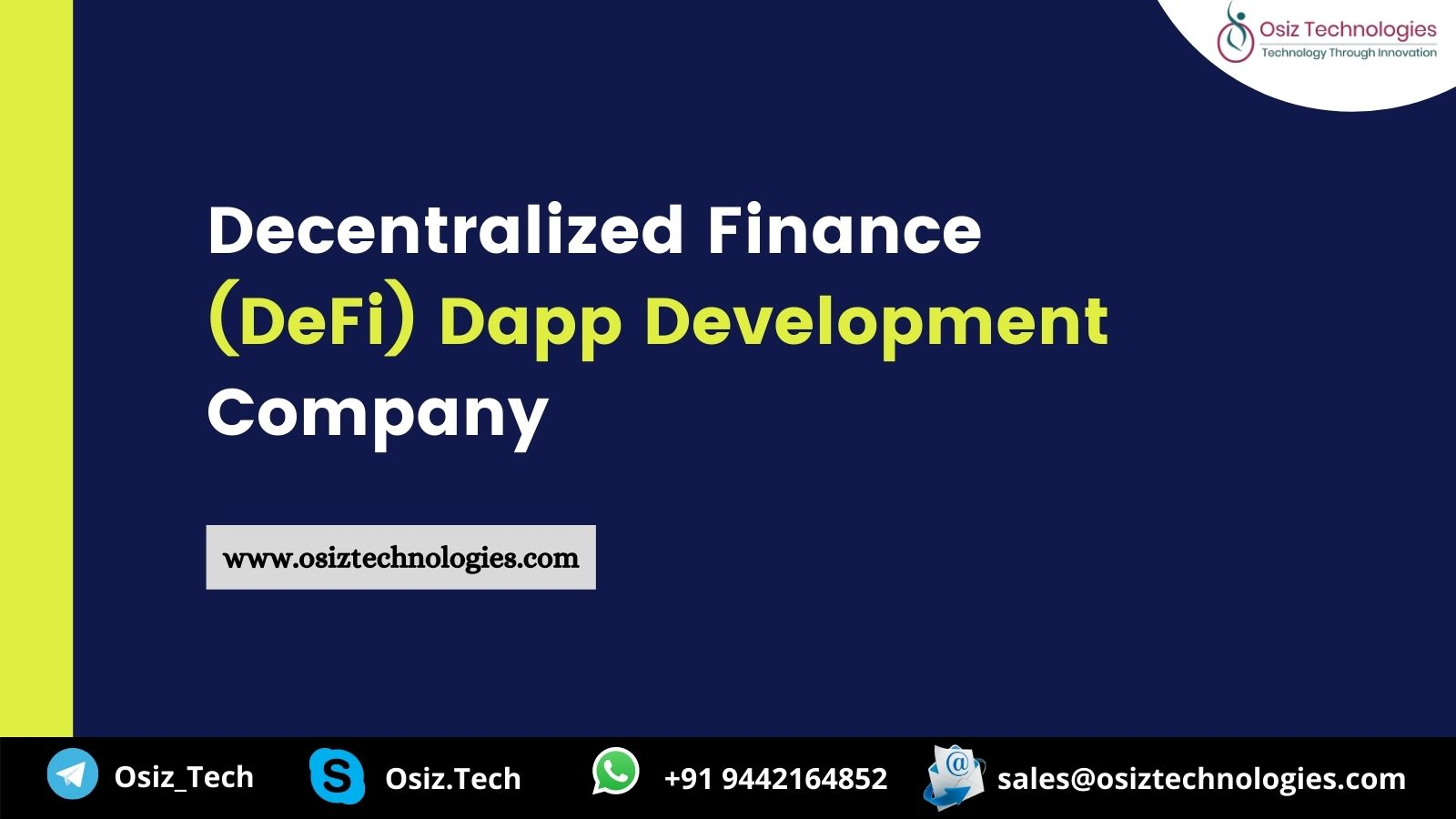 DeFi Dapp Development Company- Enhance your business through efficient Dapps on DeFi protocols