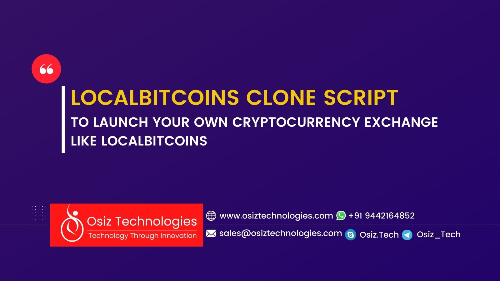 Localbitcoins Clone Script - Start Your P2P Exchange Platform With Secured Escrow Application