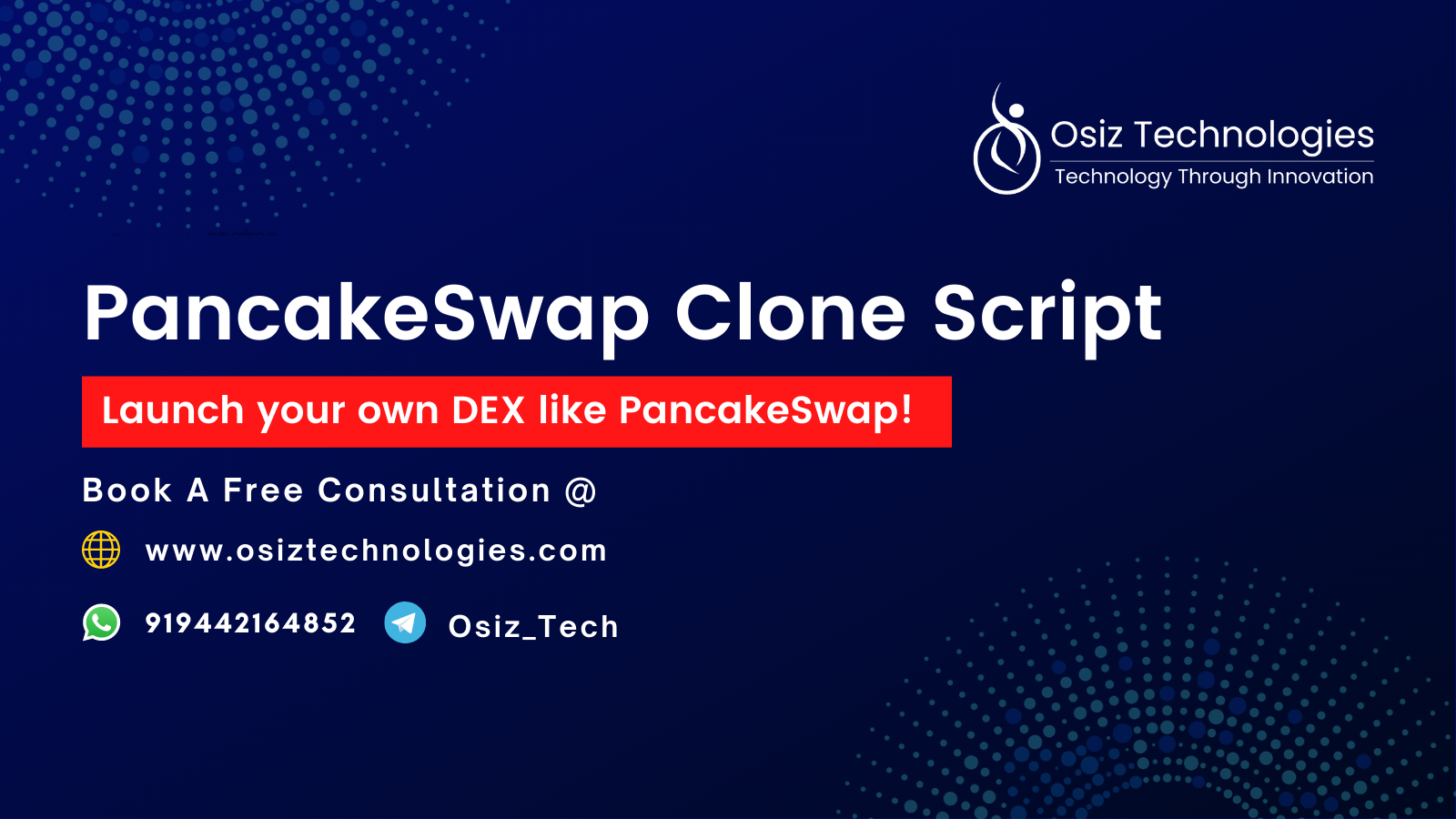 Create A Decentralized Exchange Protocol like PancakeSwap on Binance Smart Chain
