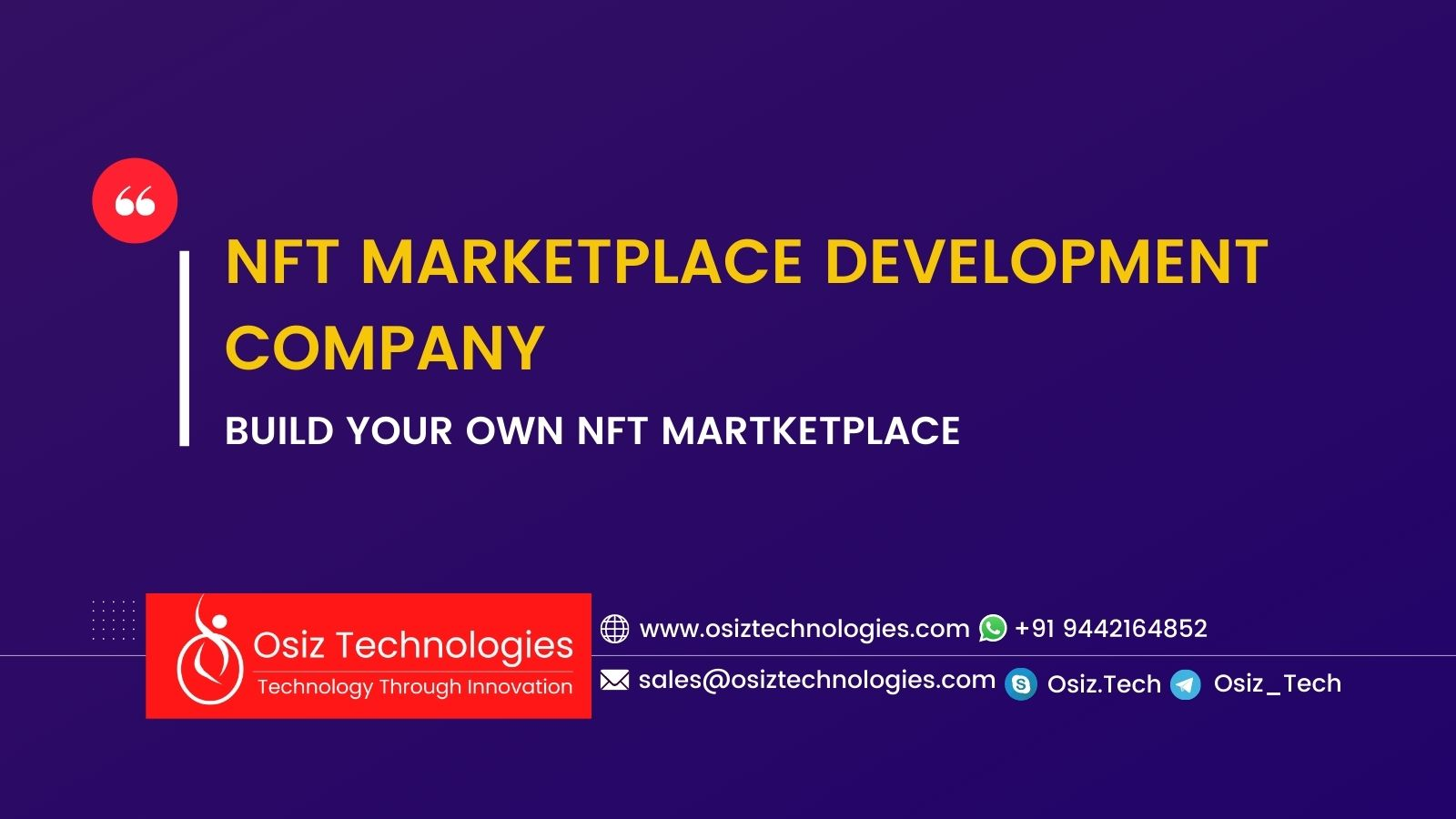 NFT Marketplace Development Company | Launch Non-Fungible Token Marketplace