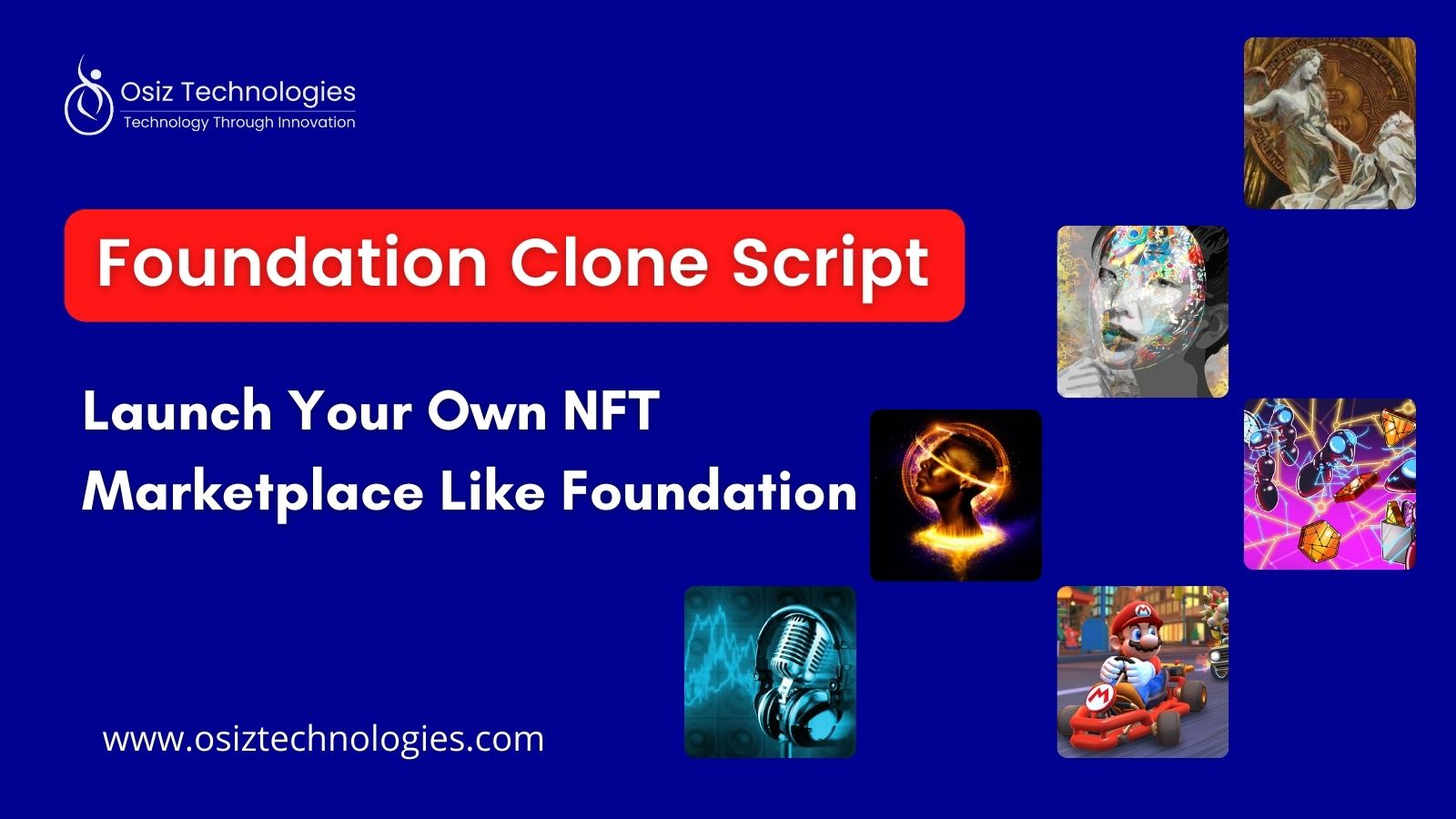 Create & Launch Your Own NFT Marketplace Like Foundation.app