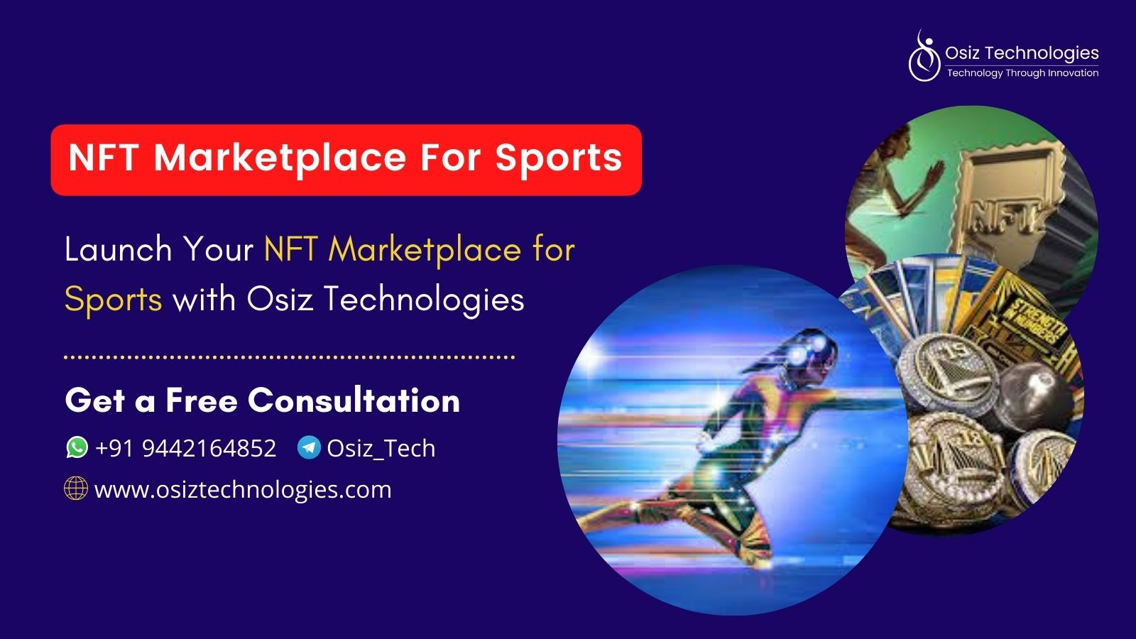 Develop Your Own NFT Marketplace For Sports